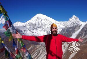 Tony auf Cherguri (5000m), Langtang, Nepal