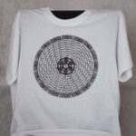 Mandala T-Shirt weiss