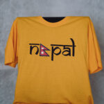 Nepal T-Shirt gelb