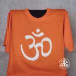 Om T-Shirt orange