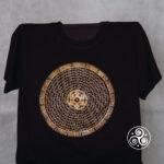 Mandala T-Shirt schwarz