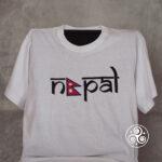 Nepal T-Shirt weiss