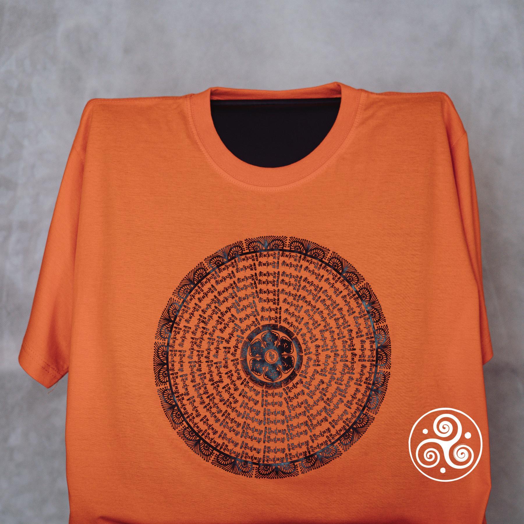 Mandala T-Shirt orange