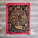 Nepal Wheel Of Life Mandala 50x70