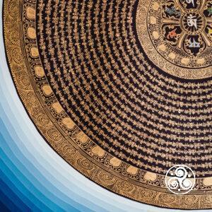 Nepal Mantra Mandala 100x100cm