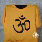 Om T-Shirt gelb