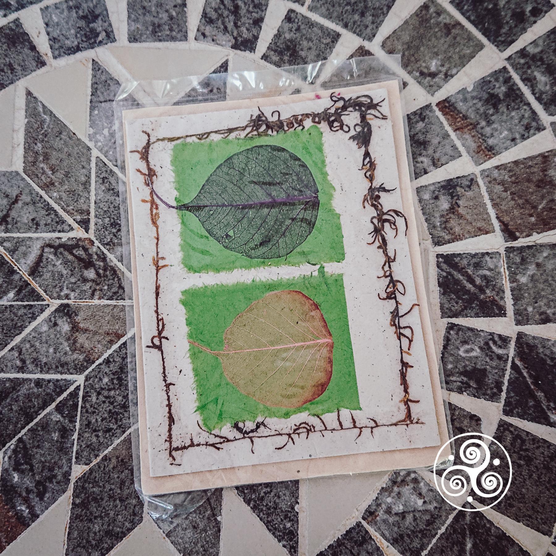 Grusskarten handgemacht