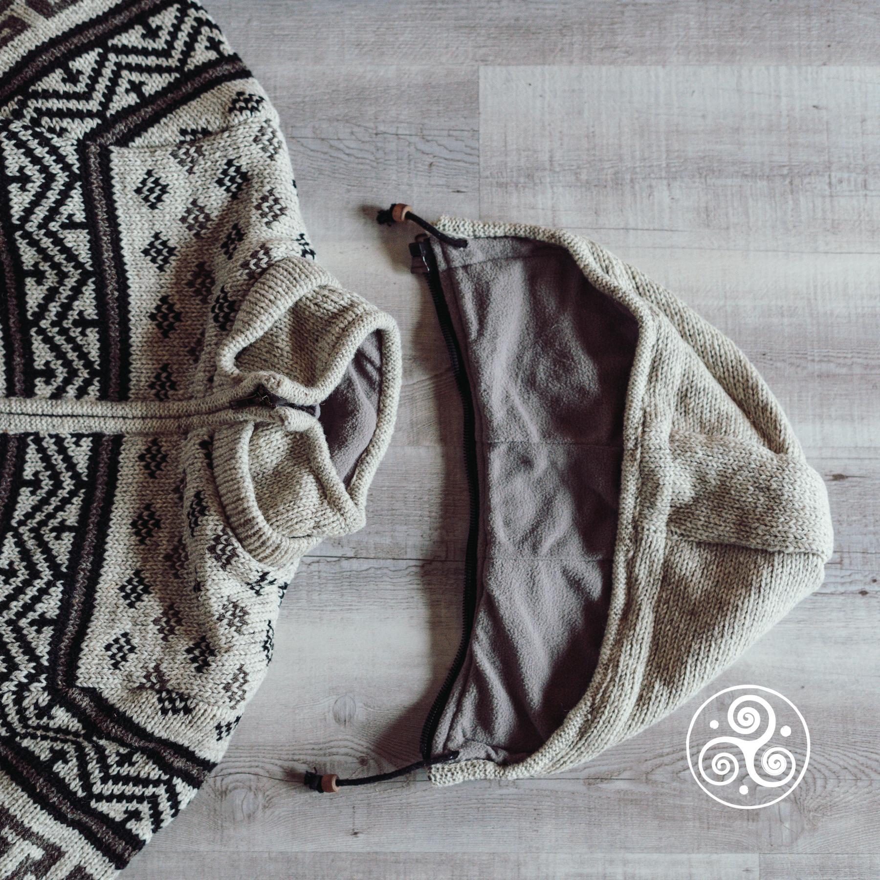 Kapuze abnehmbar bei allen Planet Wool Jacken