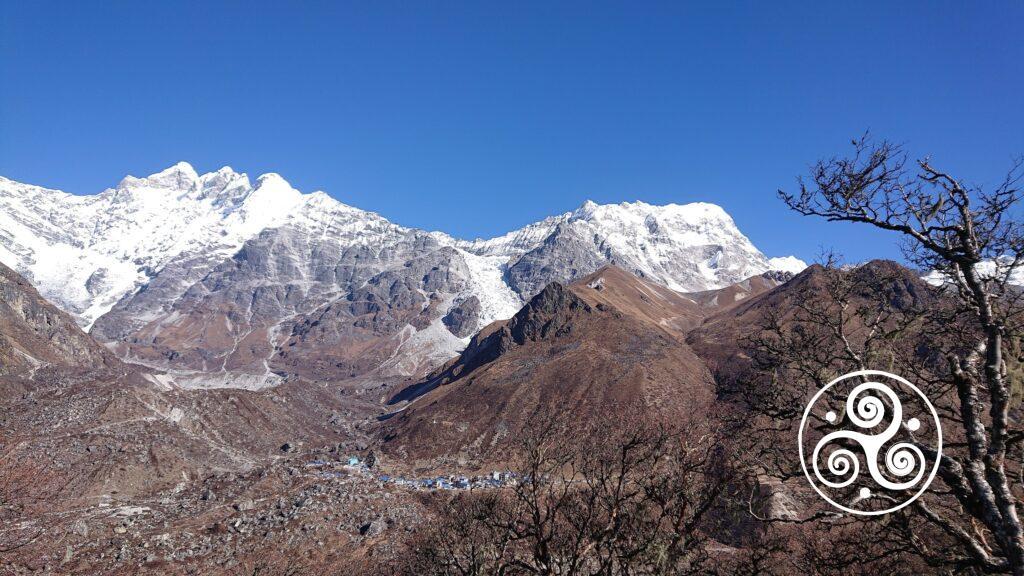 Dünn besiedeltes Gebiet im Himalaja und viel Raum für die Tiere.