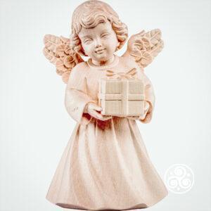 Engel mit Paket Natur