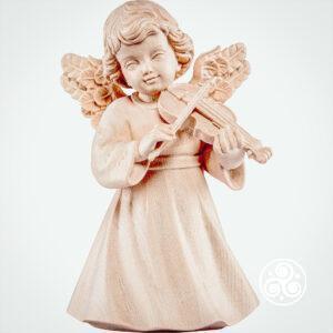 Engel mit Geige Natur