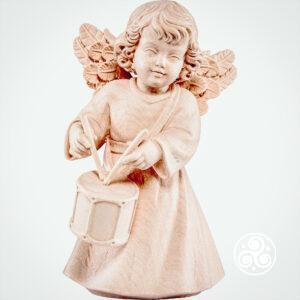 Engel mit Trommel Natur