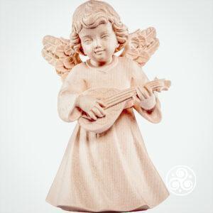 Engel mit Mandoline Natur
