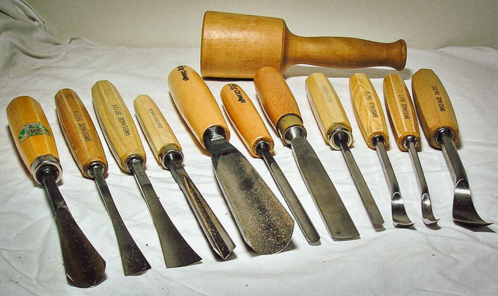 Holzschnitzer Werkzeug