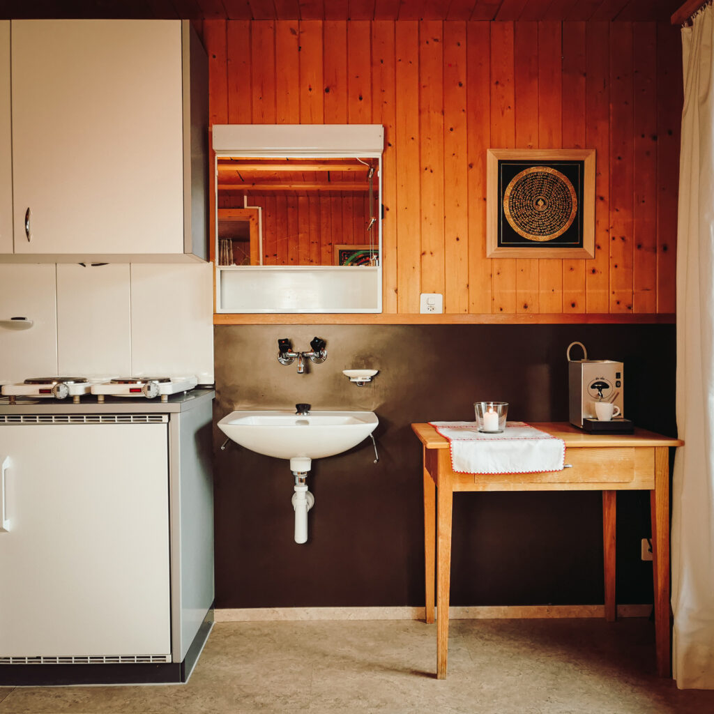 Ferienwohnung - Raum 1 - Styling-Ecke