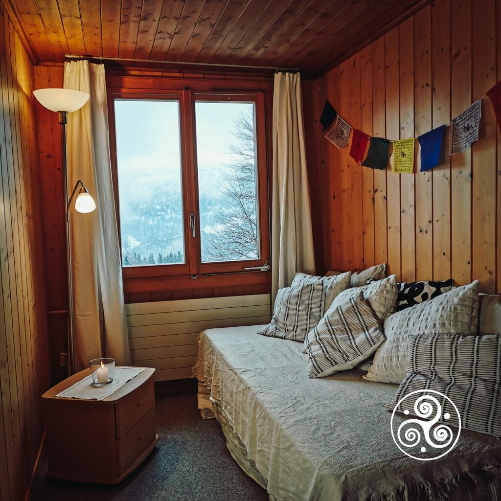 Ferienwohnung - Raum 2 - Schlafzimmer vorne