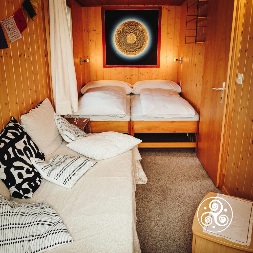 Ferienwohnung - Raum 2 - Schlafzimmer ganze Ansicht