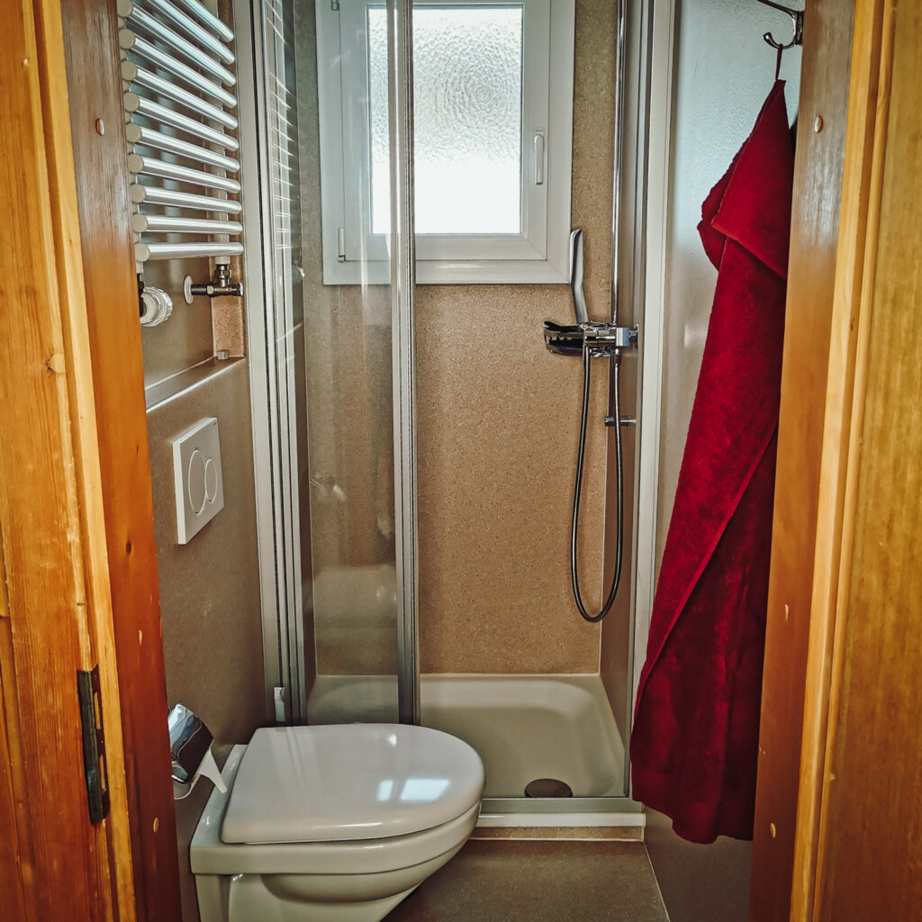 Ferienwohnung - WC / Dusche