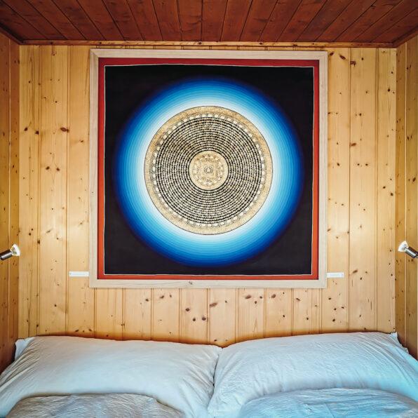 Ferienwohnung - Schlafen unter dem Mandala