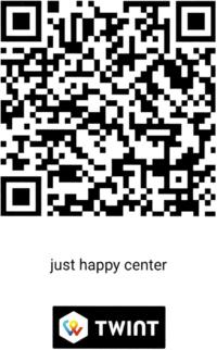 Twint QR-Code just happy center