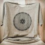Mandala T-Shirt grau